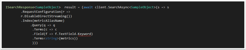 C# Time-savers for Elasticsearch – Tony's Bit